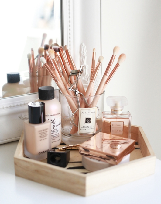makeup storage kate la vie 20 Truly Innovative (and Instagrammable) Ways to Store Your Beauty Products