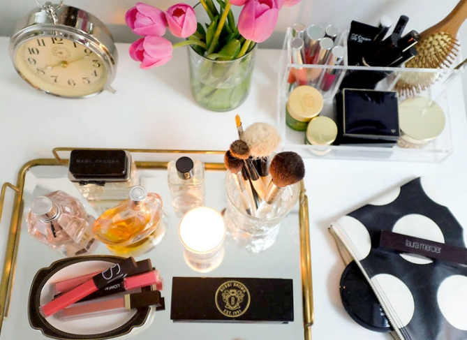 makeup storage the every girl 20 Truly Innovative (and Instagrammable) Ways to Store Your Beauty Products