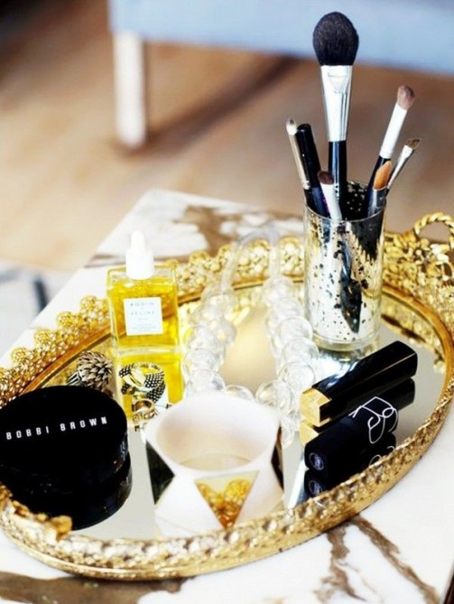 makeup storage the zoe report 2 20 Truly Innovative (and Instagrammable) Ways to Store Your Beauty Products