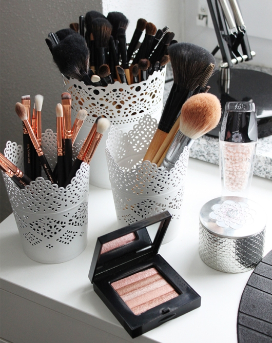 makeup storage who is mocca 20 Truly Innovative (and Instagrammable) Ways to Store Your Beauty Products