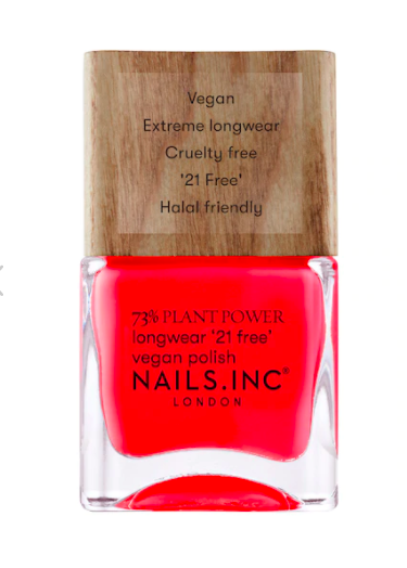 nails inc nailkale plant power nail polish 17 Vibrant New Polish Colors To Brighten Up Your Digits This Spring