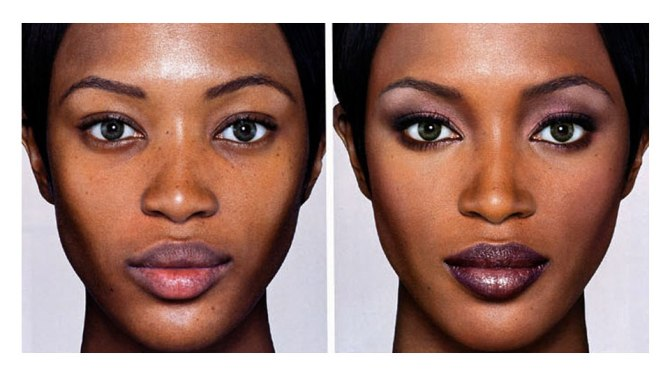 naomi campbell nars photo Fans Think Naomi Campbell Photoshopped Her Nose in This Instagram Photo