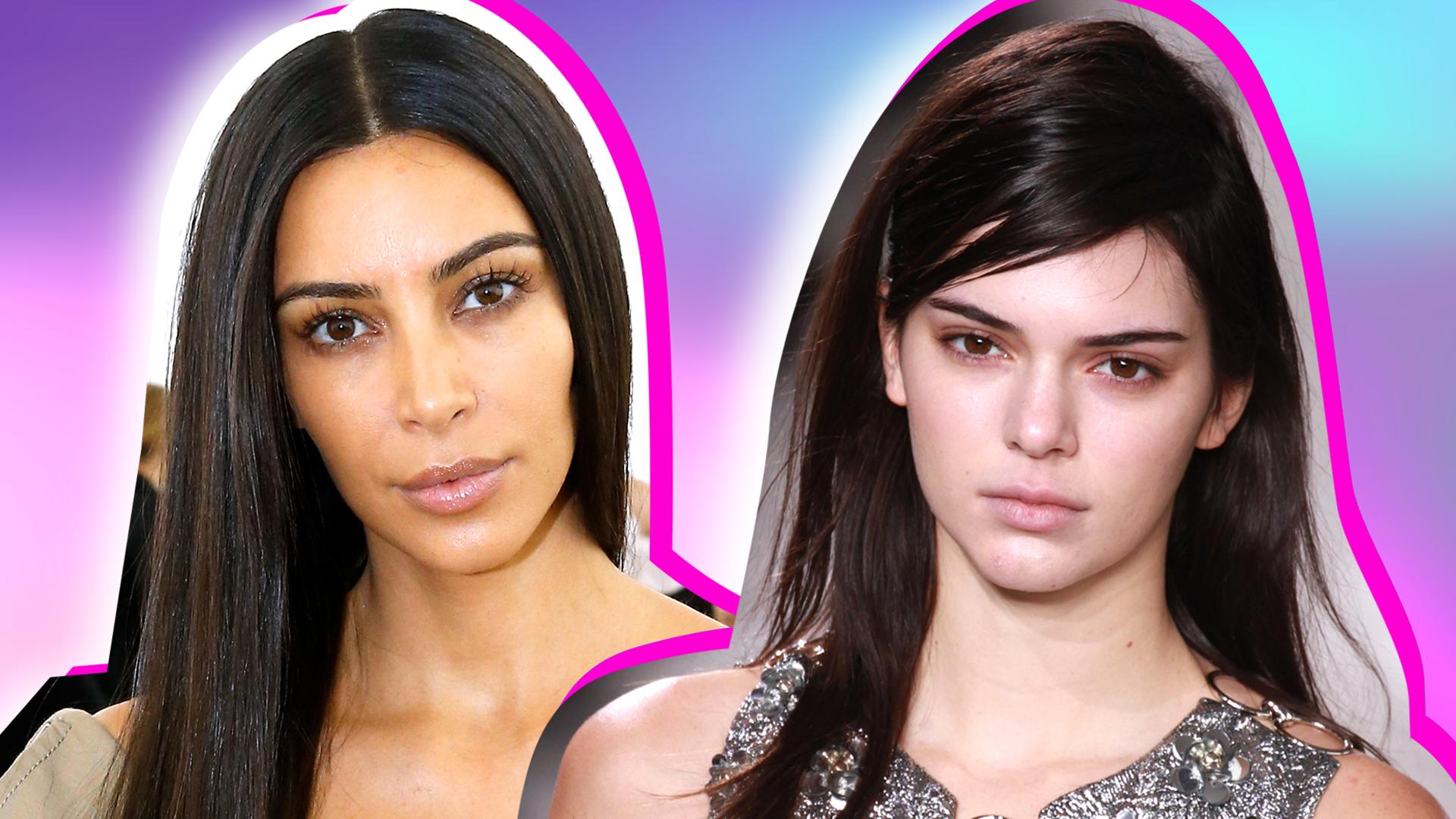 Kardashian Jenners Best Makeup Free