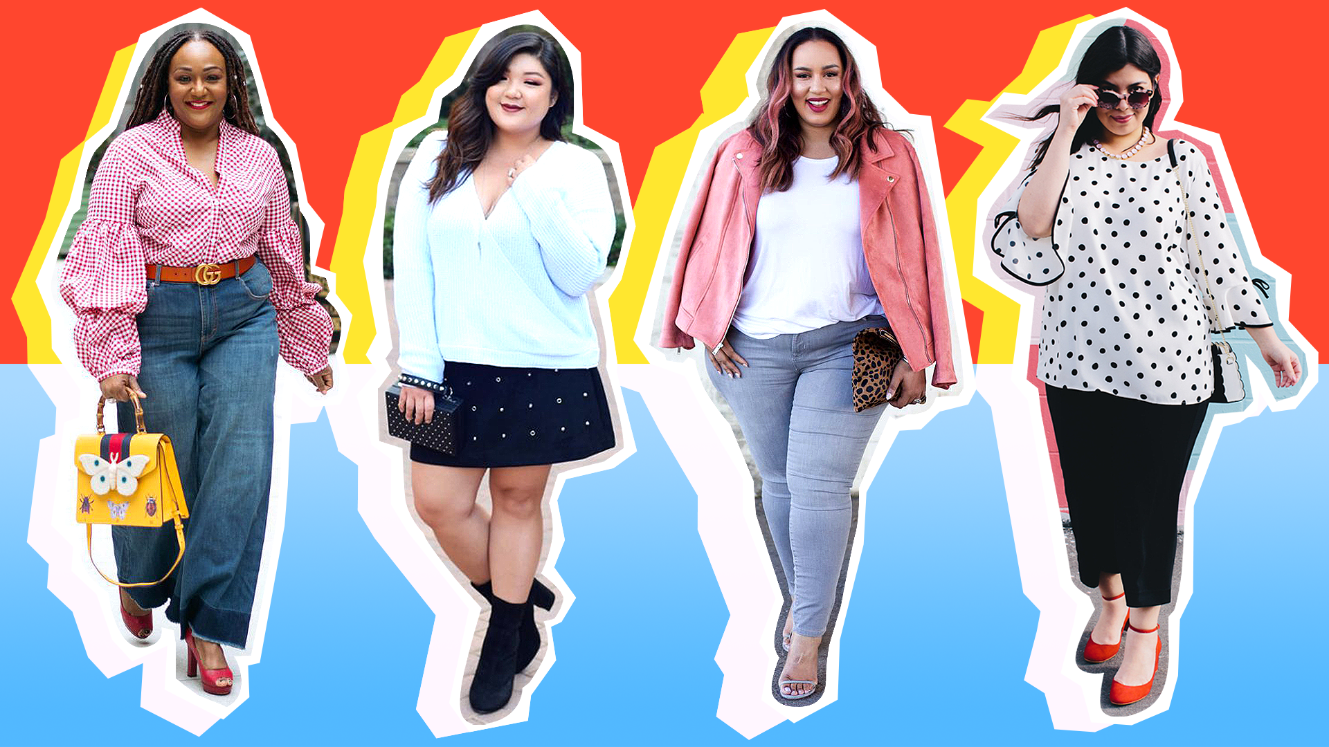 STYLECASTER | Curvy Seasonal Transition Outfit Ideas