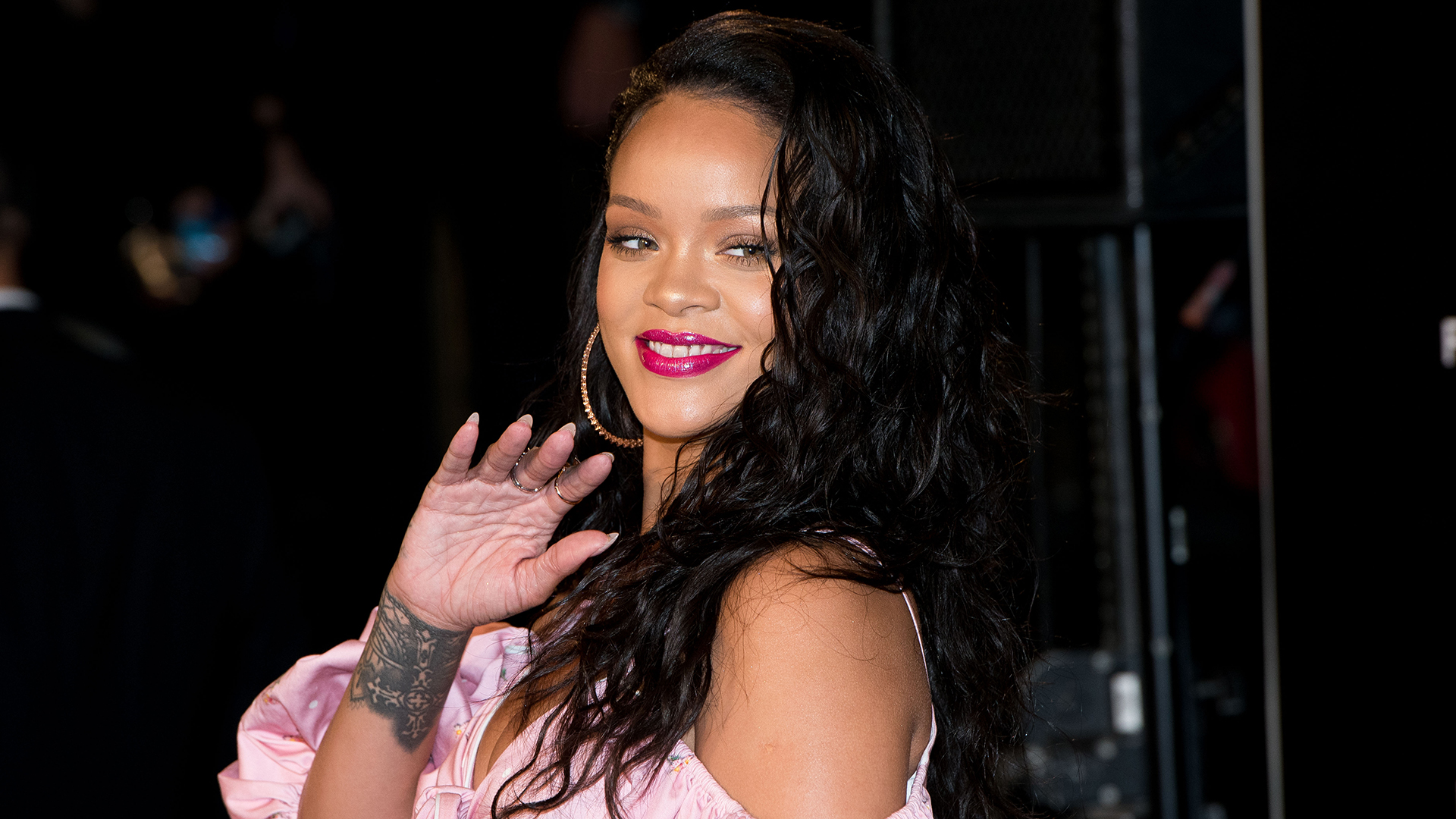 Rihanna Jumped Out of a Moving Car to Chase Down and Meet This Actor