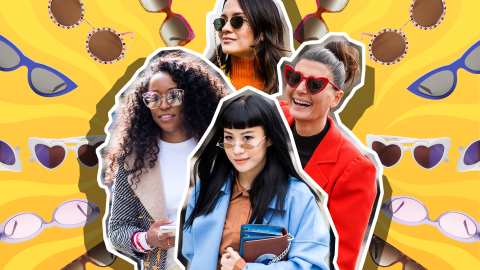 The Sunglasses Trends That Will Be Major This Spring | StyleCaster