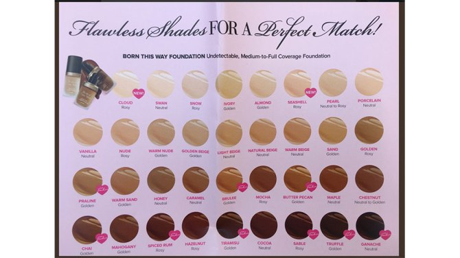 too faced The Shades for Jackie Aina and Too Faceds Foundations Are Finally Here