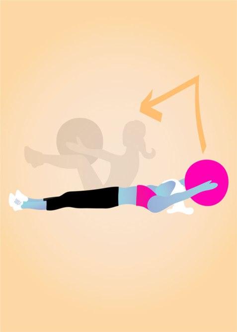 STYLECASTER   Gym Workout for Smaller Waist   Medicine Ball V-Ups