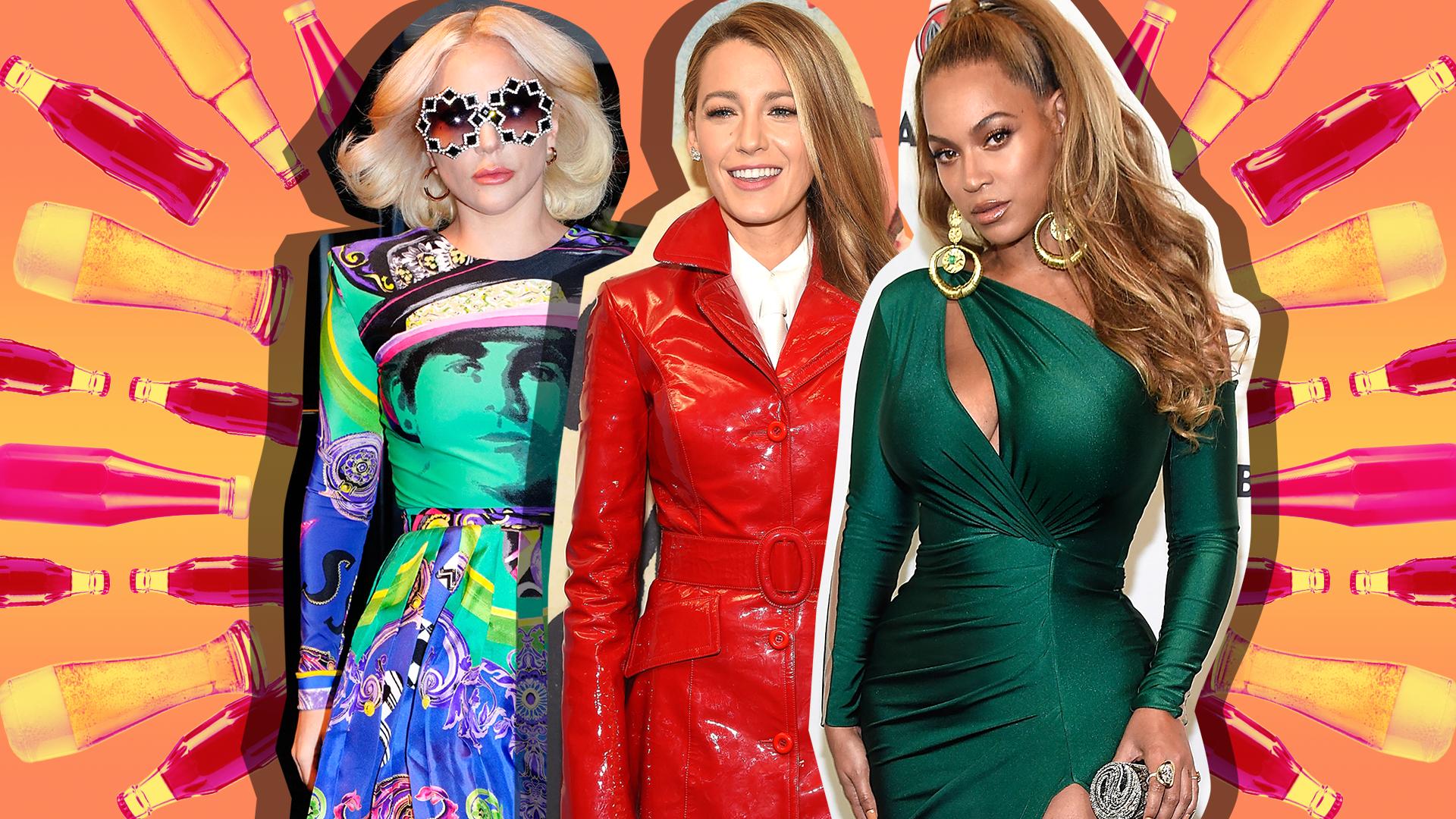Lady Gaga, Blake Lively, Beyonce