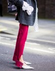 25 On-Trend Ways to Wear Leg Slit Pants