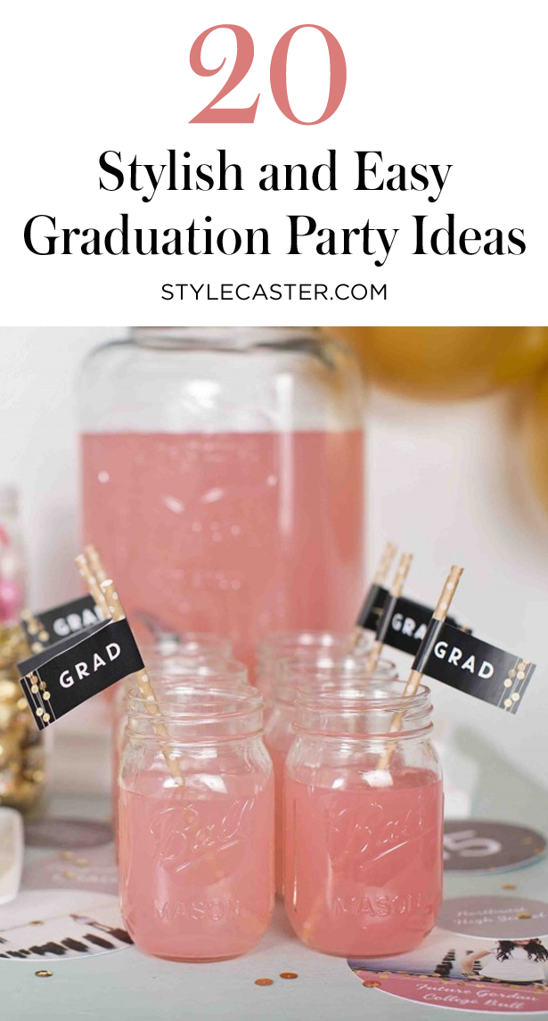 20 Stylish Graduation Party Ideas From Pinterest | @stylecaster