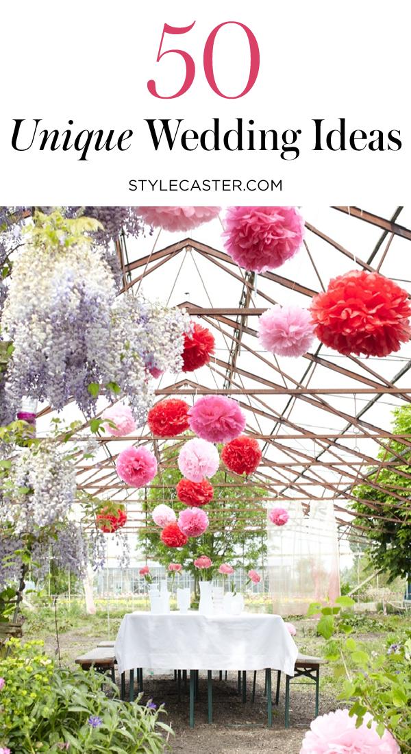 50 Genius Wedding Ideas from Pinterest | @stylecaster