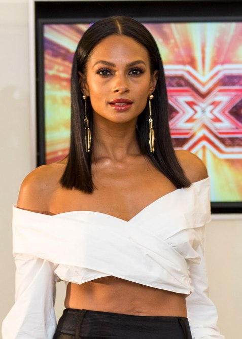 blunt haircuts alesha dixon The Straight Edge Hairstyle to Try When You Want to Level Up Your Look