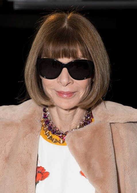 blunt haircuts anna wintour The Straight Edge Hairstyle to Try When You Want to Level Up Your Look