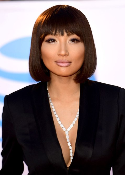 blunt haircuts jeannie mai The Straight Edge Hairstyle to Try When You Want to Level Up Your Look