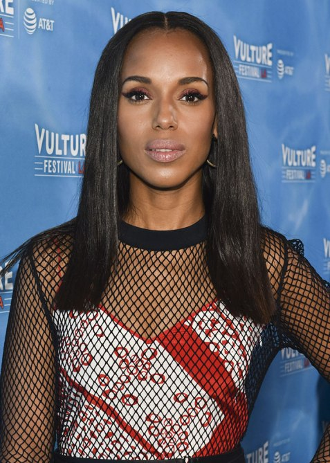 blunt haircuts kerry washington The Straight Edge Hairstyle to Try When You Want to Level Up Your Look