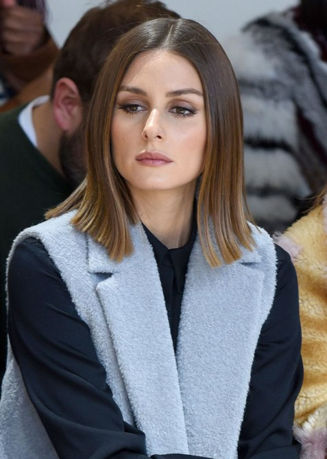 blunt haircuts olivia palermo The Straight Edge Hairstyle to Try When You Want to Level Up Your Look
