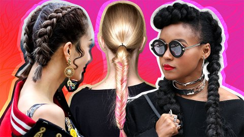 The Coolest Braided Hairstyles to Copy Now | StyleCaster