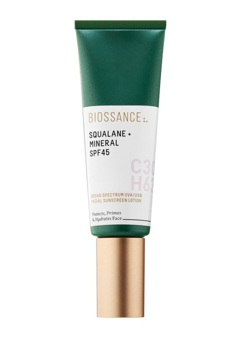 brown skin spf biossance 5 Black Beauty Editor Approved Sunscreens That Wont Make Your Skin Look Ashy