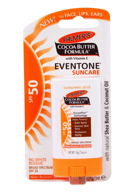 brown skin spf palmers 5 Black Beauty Editor Approved Sunscreens That Wont Make Your Skin Look Ashy