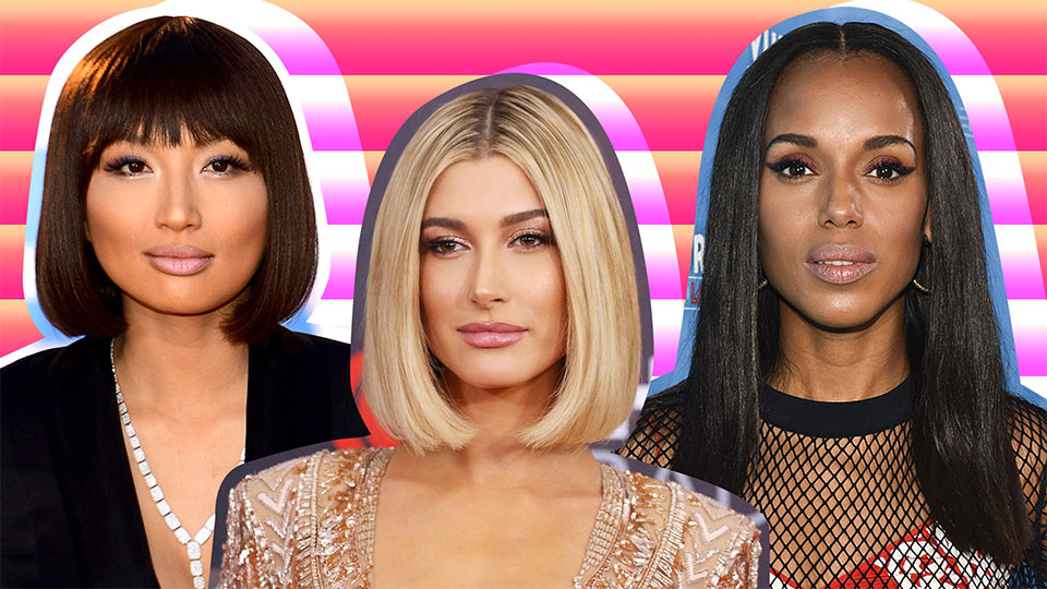 The Straight-Edge Hairstyle to Try When You Want to Level Up Your Look | StyleCaster