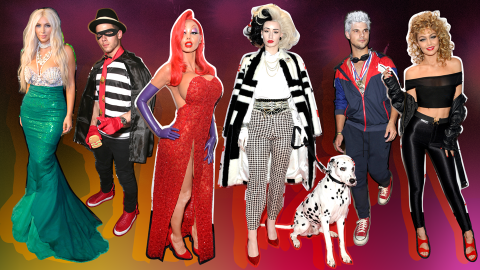 Our Favorite Celebs Are Giving Us Horror, Camp & Fashion This Halloween | StyleCaster