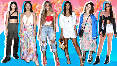 Every Chic Celebrity Outfit from Coachella 2018 | StyleCaster