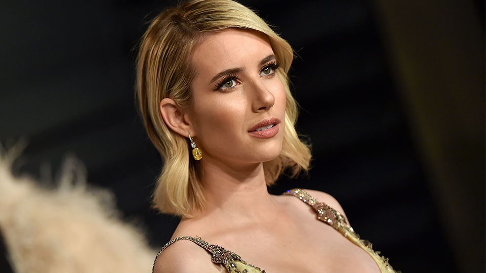 The Reason Emma Roberts Just Dyed Her Hair Millennial Pink