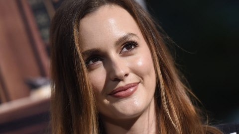 Leighton Meester Just Dyed Her Hair Platinum Blonde | StyleCaster