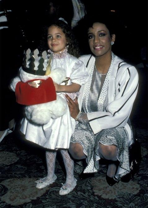 Nicole Richie and Brenda Harvey