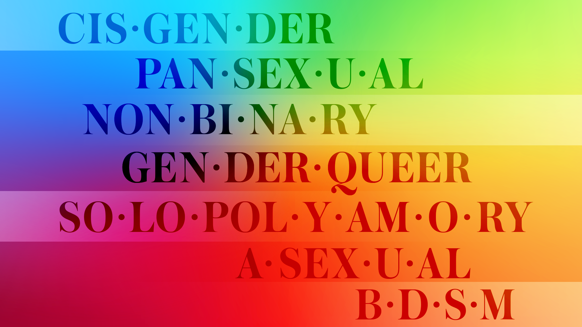 STYLECASTER | Sexuality Terms Glossary