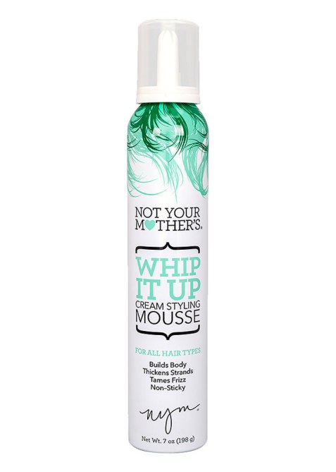 STYLECASTER | Ursula Stephen's Favorite Hair Products | Not Your Mother's Whip it Up Mousse