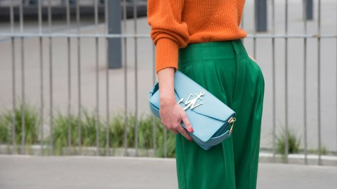 Proof There's Never a Wrong Time or Place for Wide-Leg Pants   StyleCaster