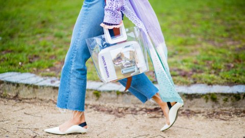 24 Ways to Make a See-Through Bag Look Chic, Not Cheesy | StyleCaster