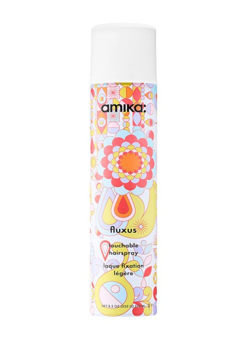 STYLECASTER | Best Product Pairs for Every Hair Texture | Amika Fluxus Touchable Hairspray