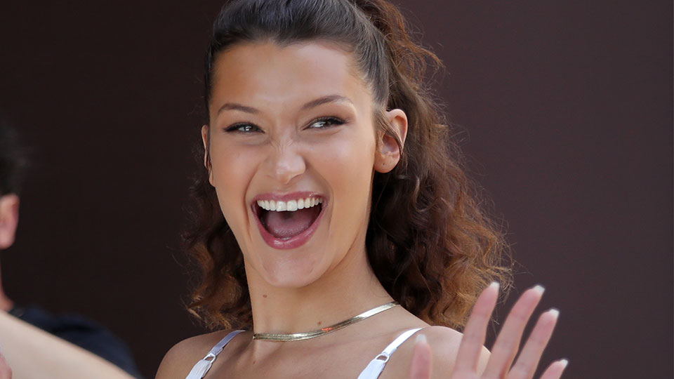 Here's Bella Hadid Looking Impossibly Fresh-Faced at Cannes Film Festival
