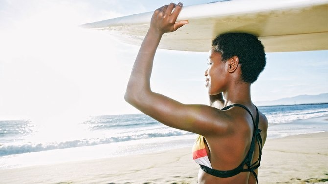How to Protect Hair at the Beach