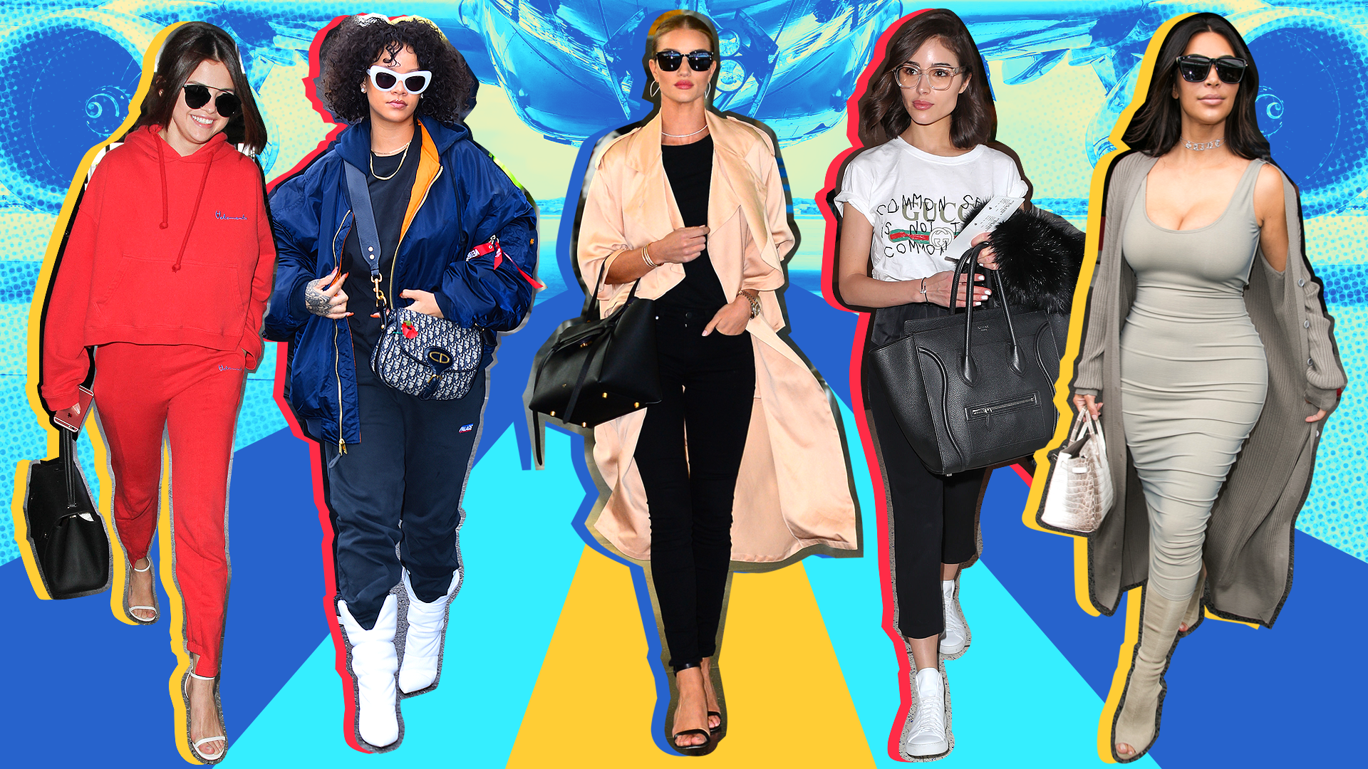Celebrity Airport Fashion