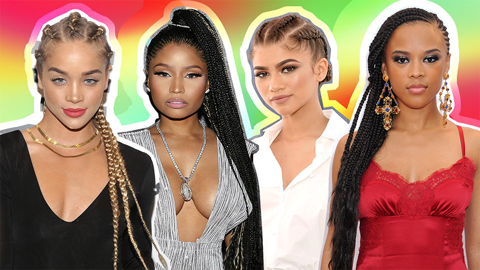 The Celebrity Guide to Slaying in Cornrows All Summer Long
