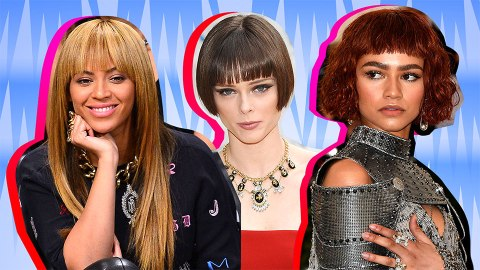 Celebs Who Know the Power of Perfectly Cut Blunt Bangs | StyleCaster