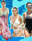 Celebrity Vacation Looks to Inspire Your Summer Style