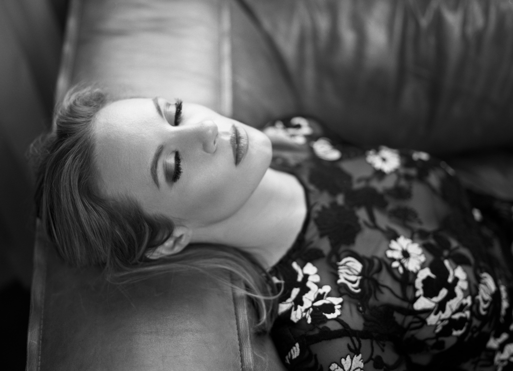 danielle savre bw shot by joe gray Station 19 Star Danielle Savre on Playing a Bisexual Character and Breaking Tough Female Stereotypes