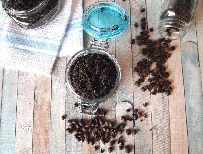 eco living mama coffee scrub recipe 13 DIY Coffee Scrub Recipes—From Face Masks to Hair Treatments