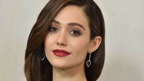 Emmy Rossum's Skin Glows in a Gorgeous Makeup-Free Selfie | StyleCaster