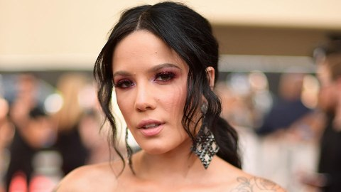 The Pricey Detail You Probably Missed in Halsey's BMAs Hairstyle   StyleCaster