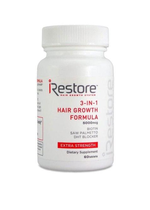 iRestore 3-in-1 Hair Growth Supplement