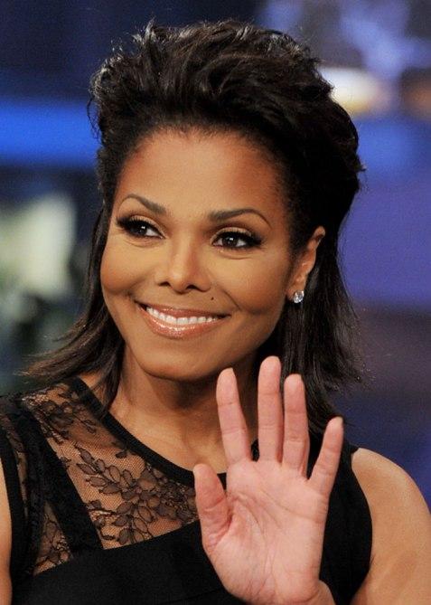 STYLECASTER | Celebrity Pompadours | Janet Jackson