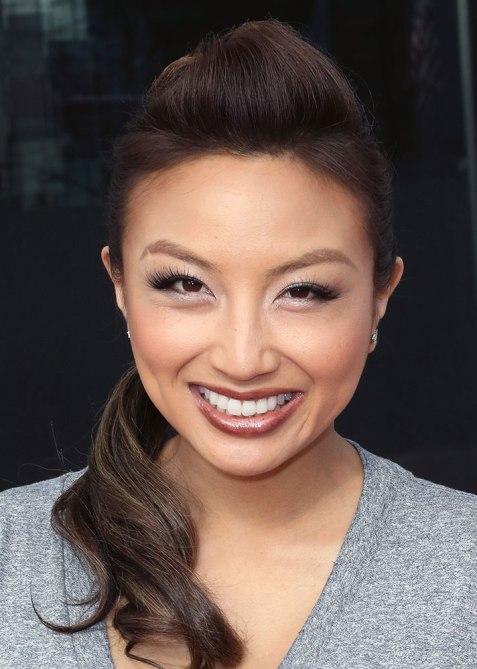 STYLECASTER | Celebrity Pompadours | Jeannie Mai