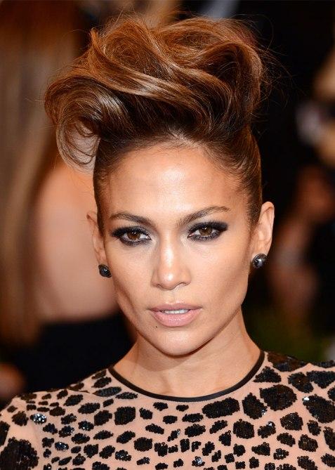 STYLECASTER | Celebrity Pompadours | Jennifer Lopez
