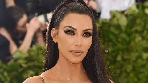 Kim K. Paired Her Met Gala Contacts with $20 Mink Lashes | StyleCaster